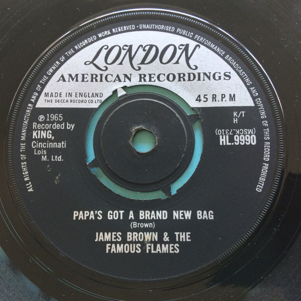 James Brown - Papa's got a brand new bag - U.K. London - Ex-