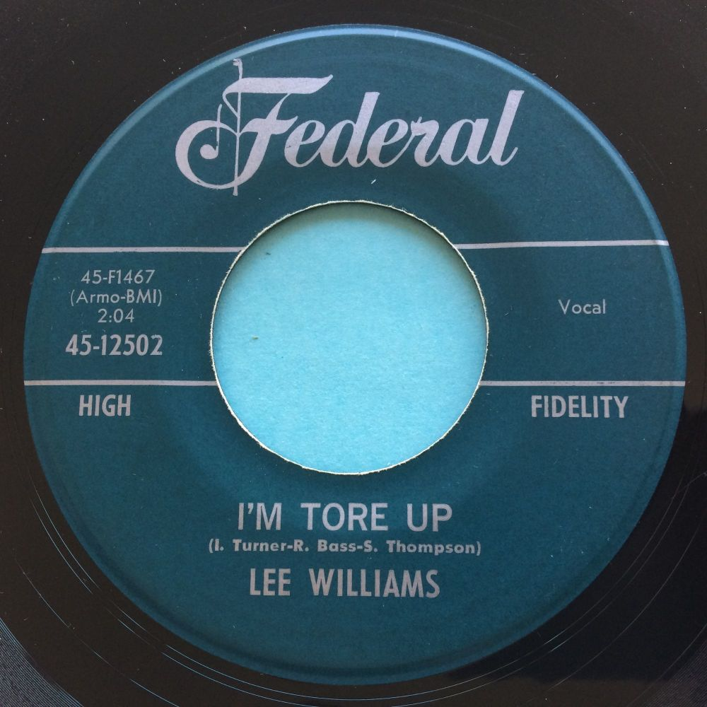 Lee Williams - Tore up - Federal - Ex