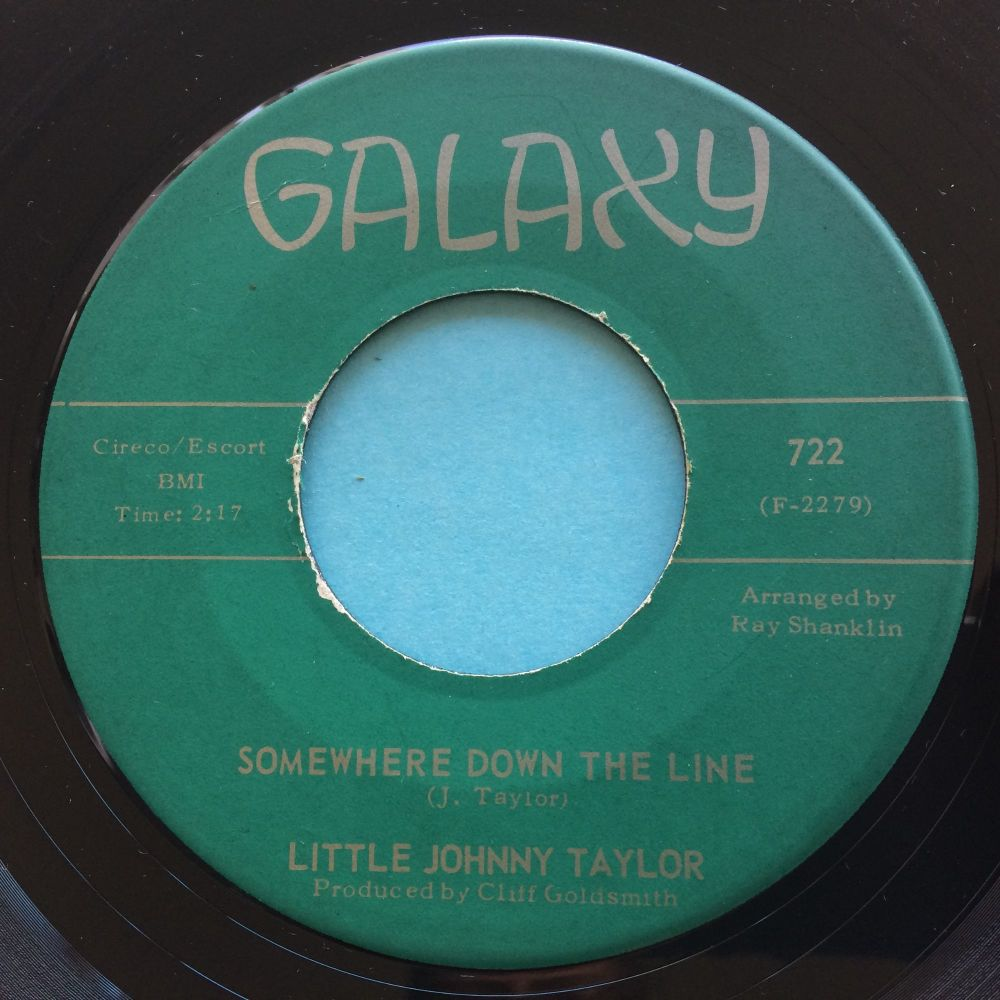 Little Johnny Taylor - Somewhere down the line - Galaxy - Ex