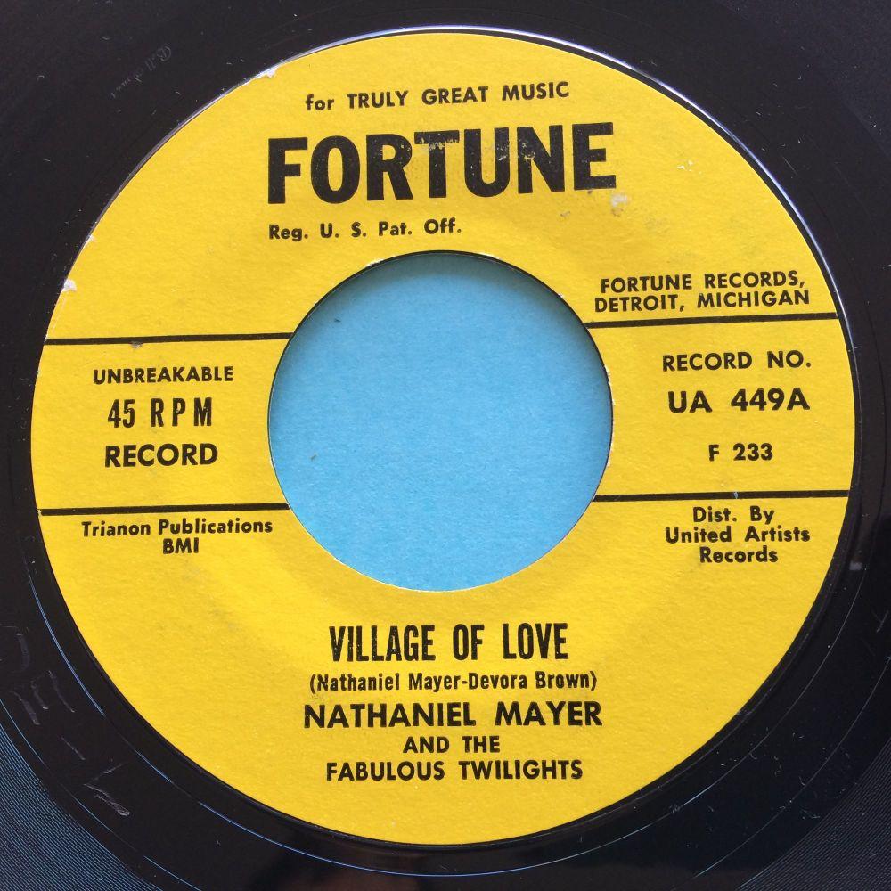 Nathaniel Mayer - Village of love - Fortune - Ex