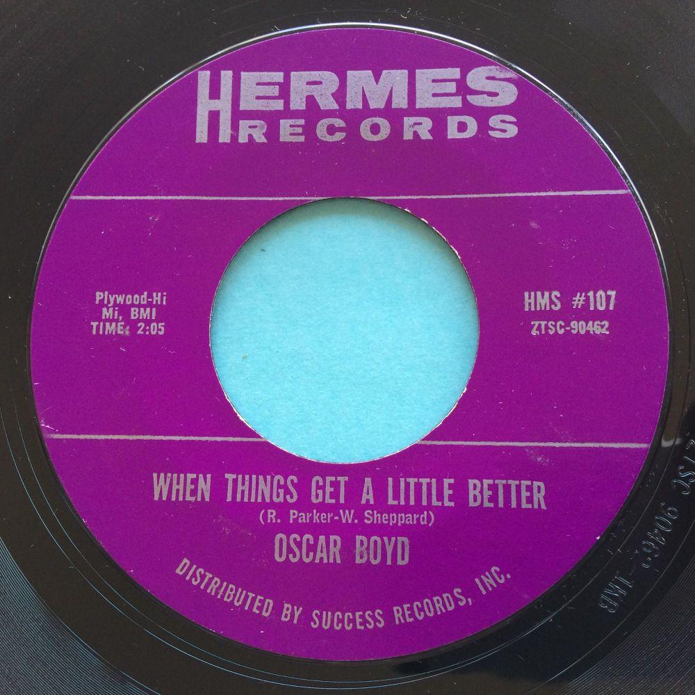 Oscar Boyd - When things get a little better - Hermes - Ex