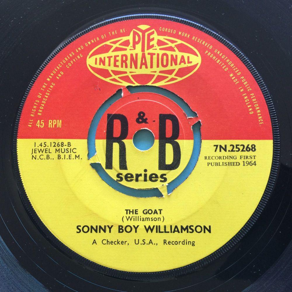 Sonny Boy Williamson - The Goat - U.K. Pye International R&B Series - Ex-