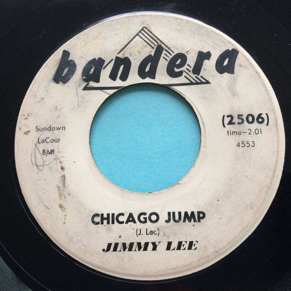 Jimmy Lee - Chicago Jump - Bandera promo - VG+