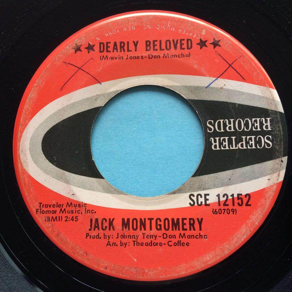 Jack Montgomery - Dearly beloved b/w Do you believe it - Scepter - VG+