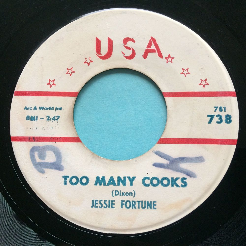 Jessie Fortune - Too many cooks - USA - VG+ (wol)