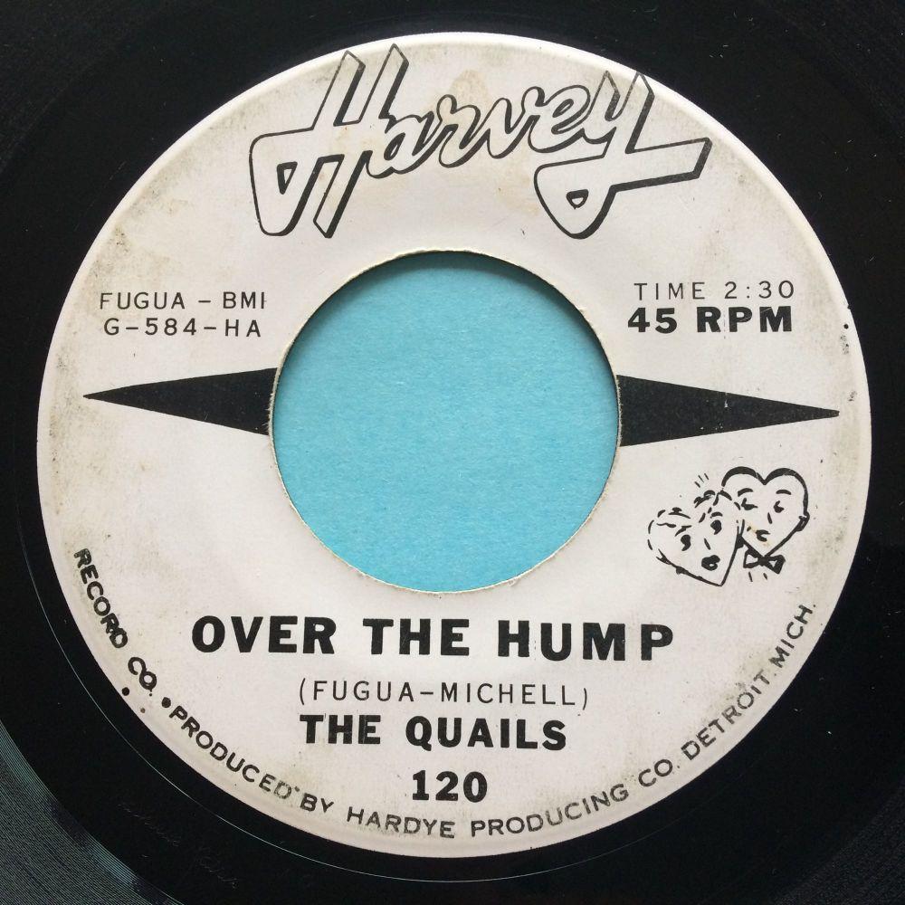 Quails - Over the hump - Harvey promo - VG+