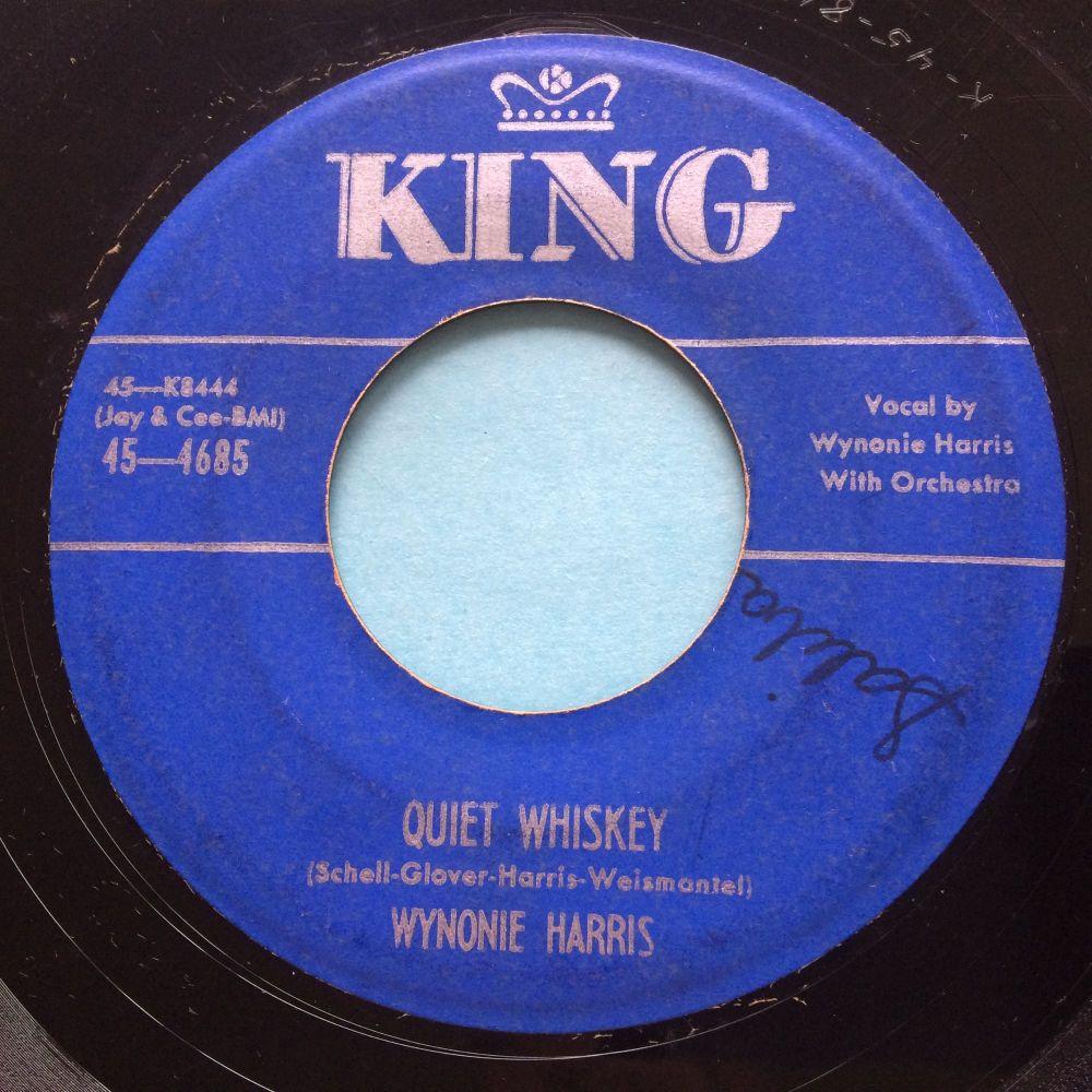 Wynonie Harris - Quiet Whiskey - King - VG+ (wol)
