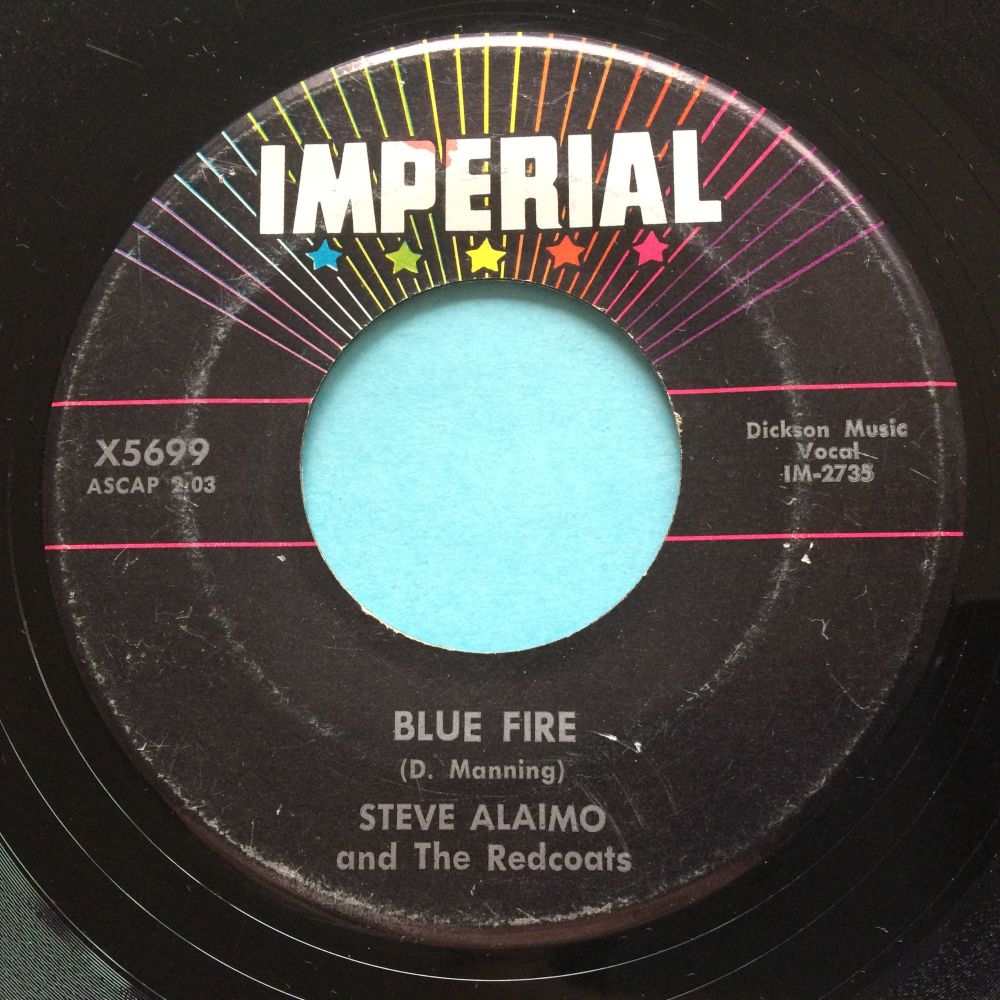 Steve Alaimo - Blue Fire - Imperial - VG+