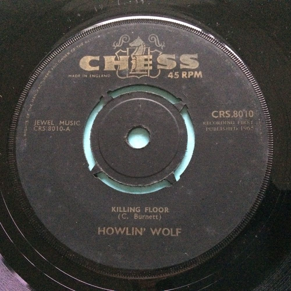 Howlin' Wolf - Killing Floor - U.K. Chess - Ex
