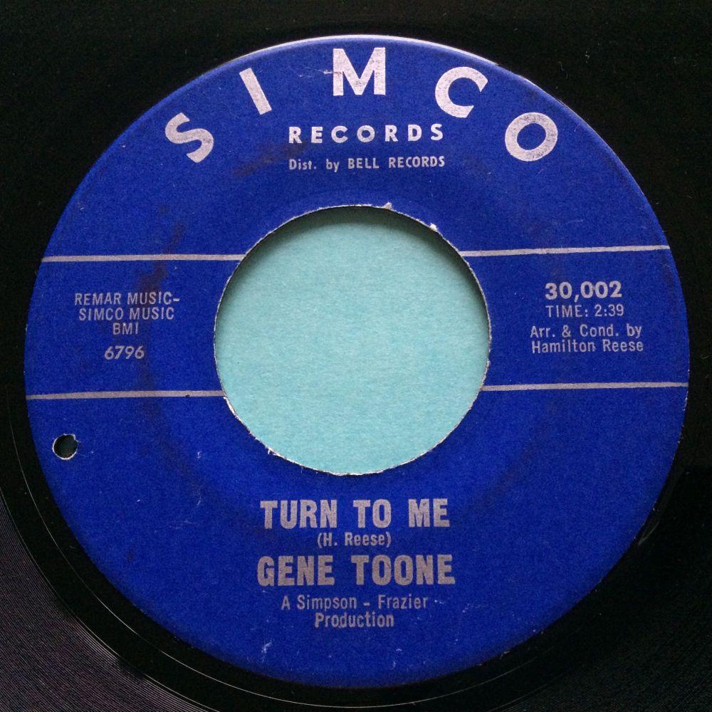 Gene Toone - turn to me - Simco - VG+