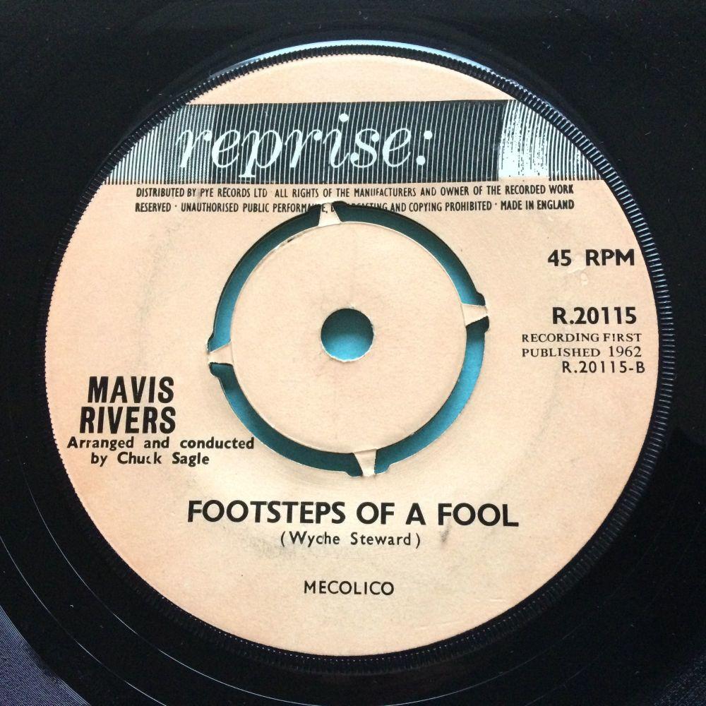 Mavis Rivers - Footsteps of a fool - Reprise UK - Ex