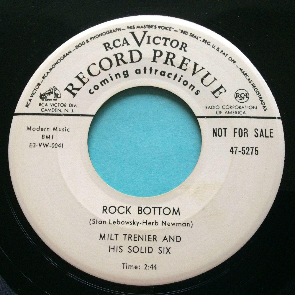 Milt Trenier - Rock Bottom - RCA promo - VG+