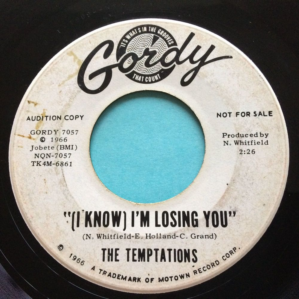 Temptations - (I know) I'm losing you - Gordy promo - Ex (wol)