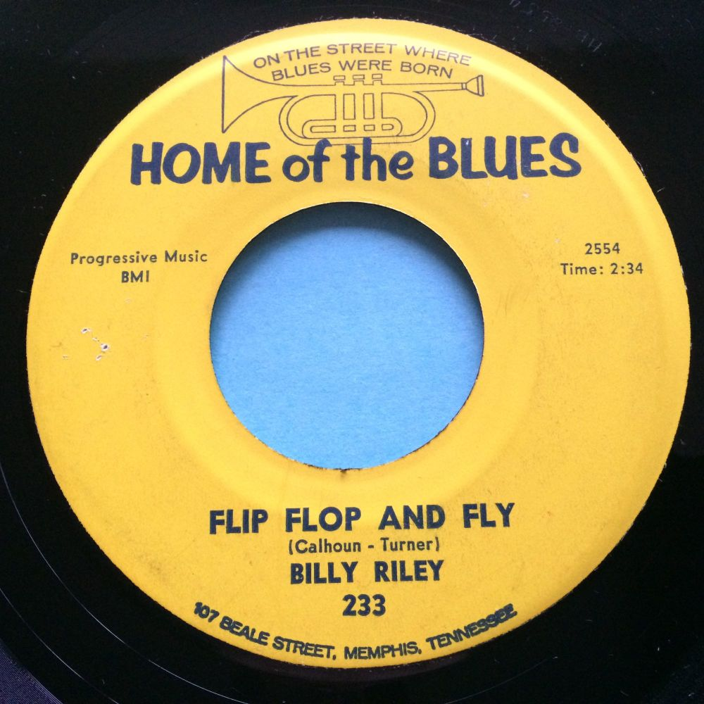Billy Riley - Flip Flop and Fly - Home of the Blues b/w Teenage Letter - Ex-