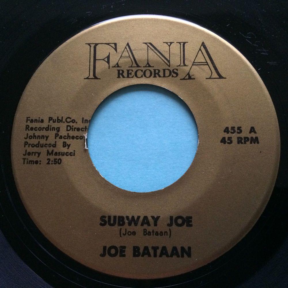 Joe Bataan - Subway Joe - Fania - VG+