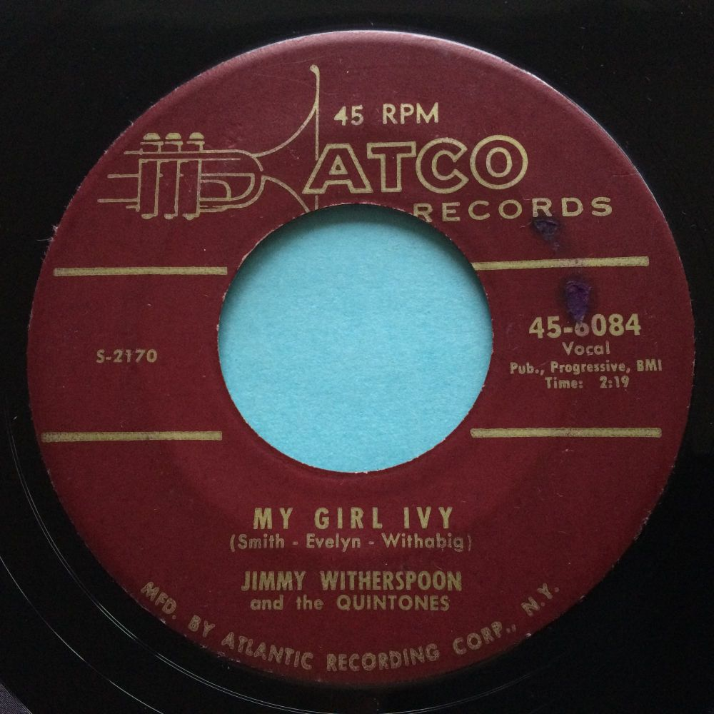 Jimmy Witherspoon - My Girl Ivy - Atco - Ex-