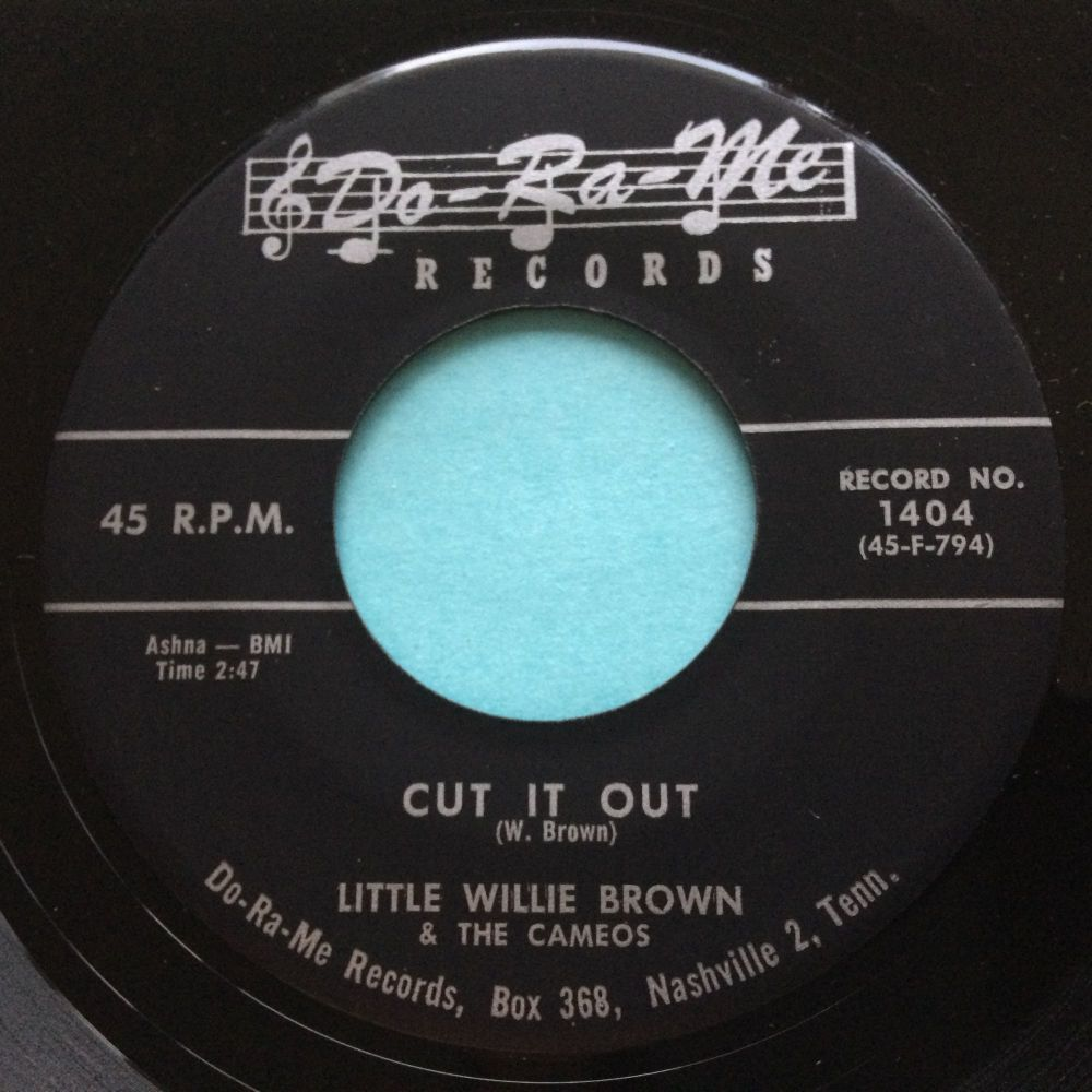 Little Willie Brown & The Cameos - Cut it out - Do-Ra-Me - Ex