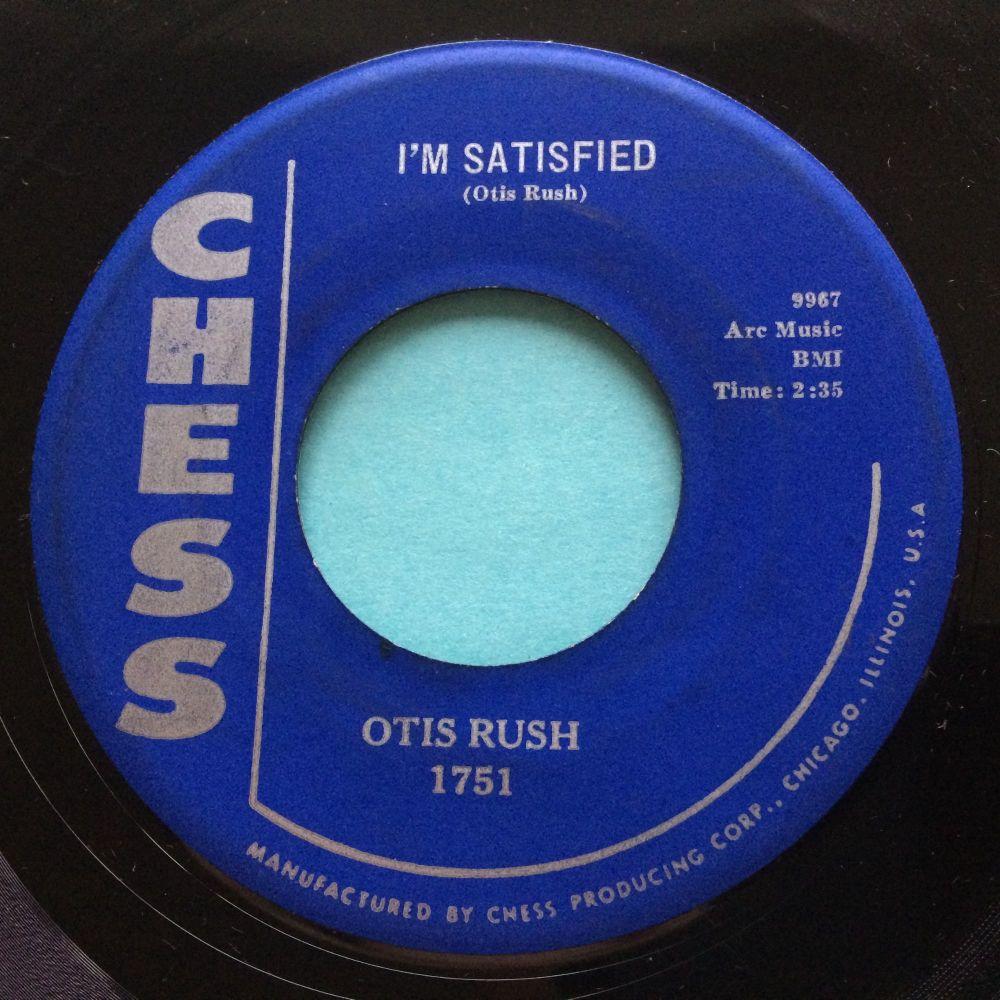 Otis Rush - I'm Satisfied - Chess - VG+