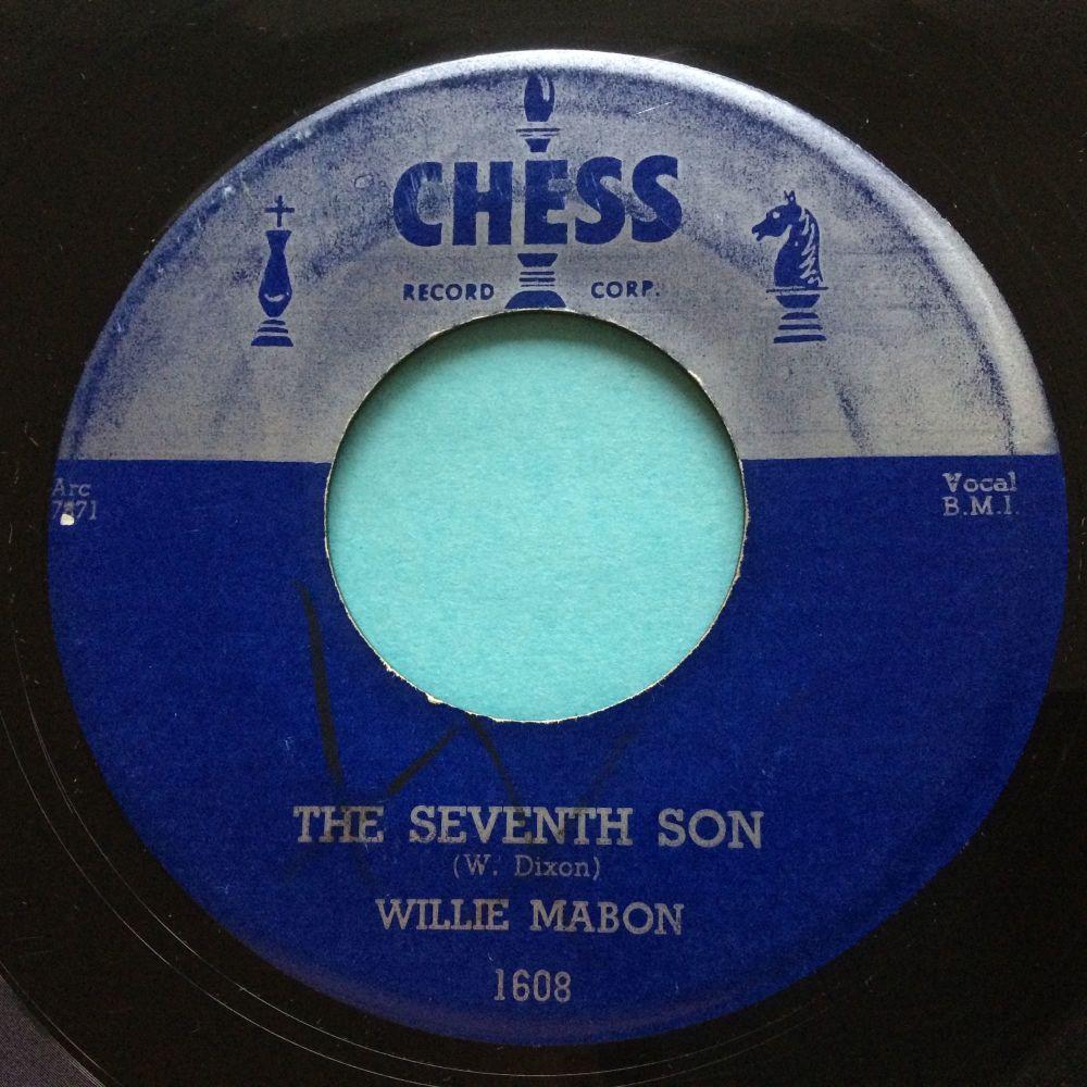 Willie Mabon - The Seventh Son - Chess - Ex-