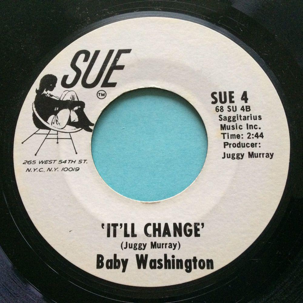 Baby Washington - It'll change b/w I know - Sue promo - Ex-