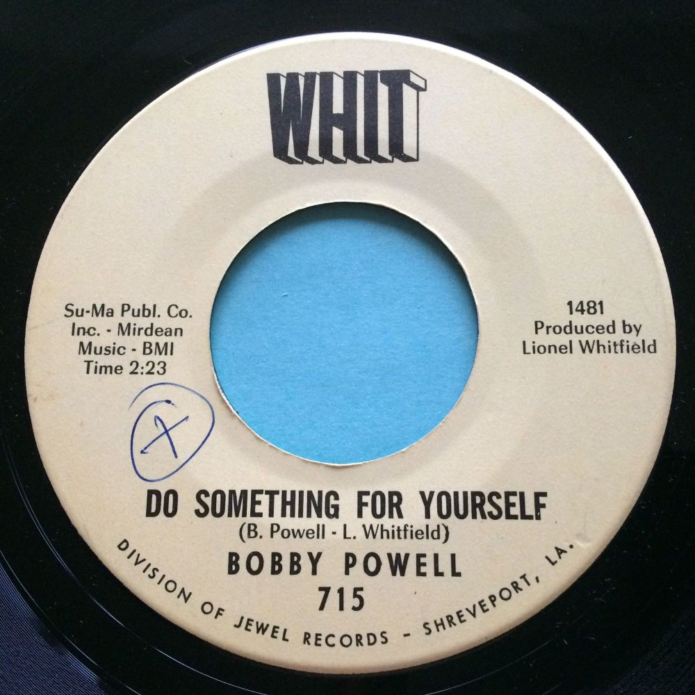 Bobby Powell - Do something for yourself - Whit - Ex (swol)