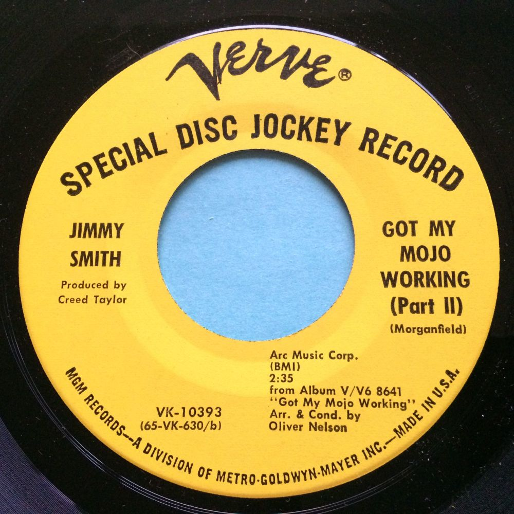 Jimmy Smith - Got my mojo working - Verve promo - Ex