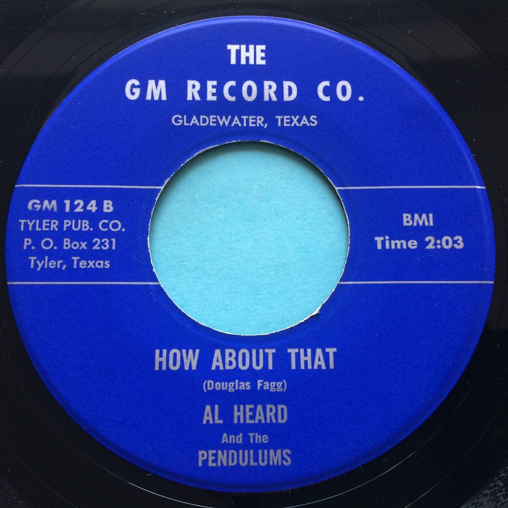 Al Heard & Pendulums - How about that - GM - Ex-