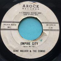 Gene Walker - Empire City - Arock promo - VG+