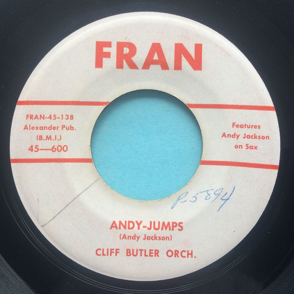 Cliff Butler - Andy Jumps - Fran - VG+