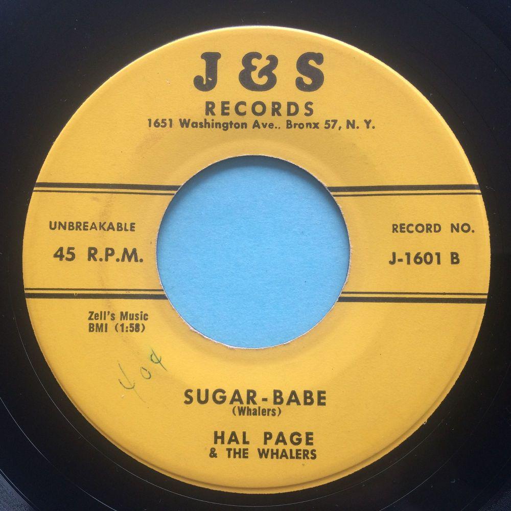 Hal Page - Sugar Babe b/w Thunder Bird - J&S - Ex-