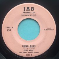 Elsie Wheat - Cuban Blues - Jab - VG+