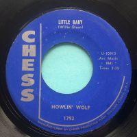 Howlin' Wolf - Little Girl b/w Down in the bottom - Chess - VG+