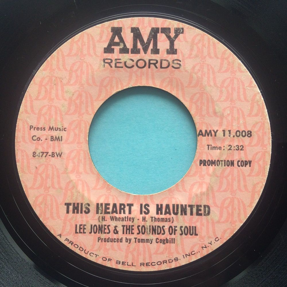 Lee Jones and the Sounds of Soul - This heart is haunted - Amy promo - looks VG plays VG+