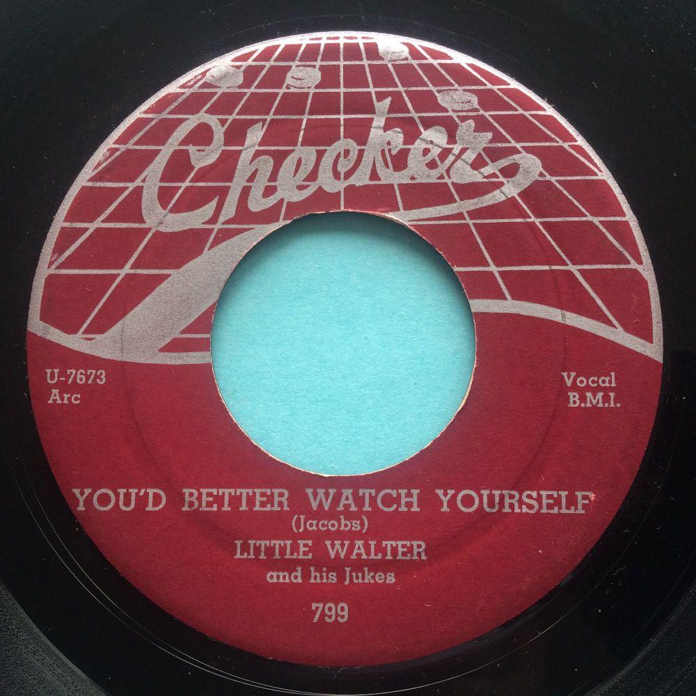 Little Walter - You'd better watch yourself - Checker webtop - Ex-
