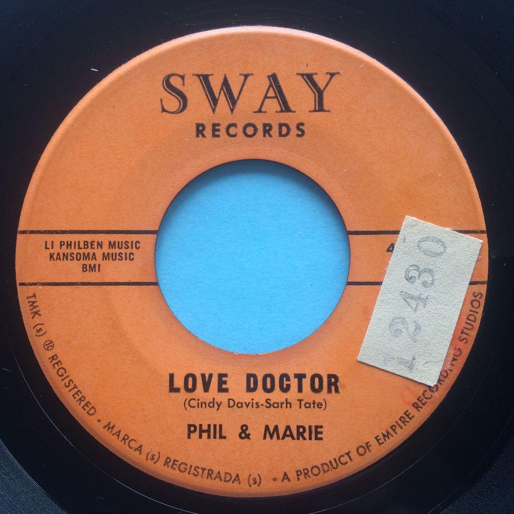 Phil & Marie - Love doctor - Sway - VG+ (sol)