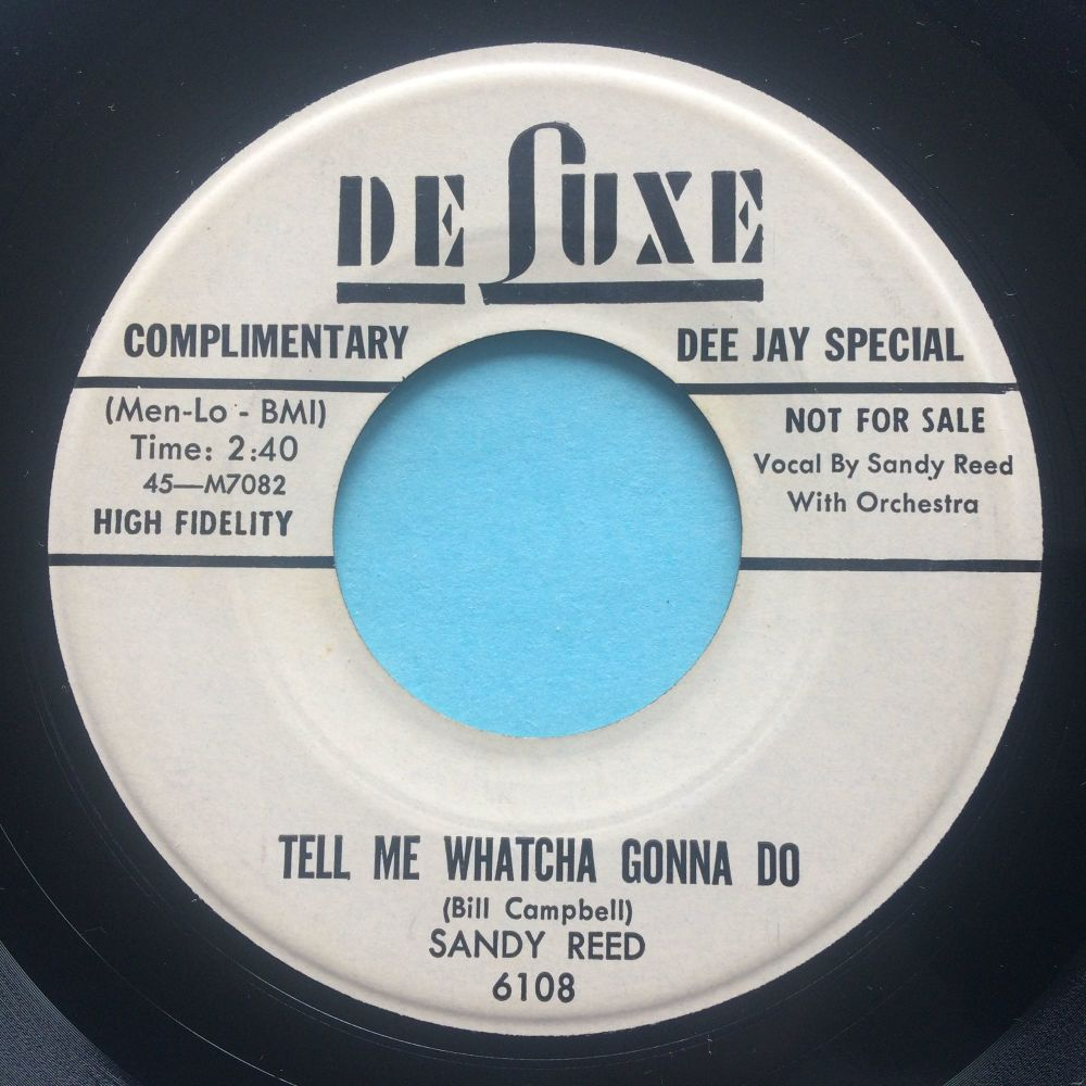 Sandy Reed - Tell me whatcha gonna do - Deluxe promo - Ex-