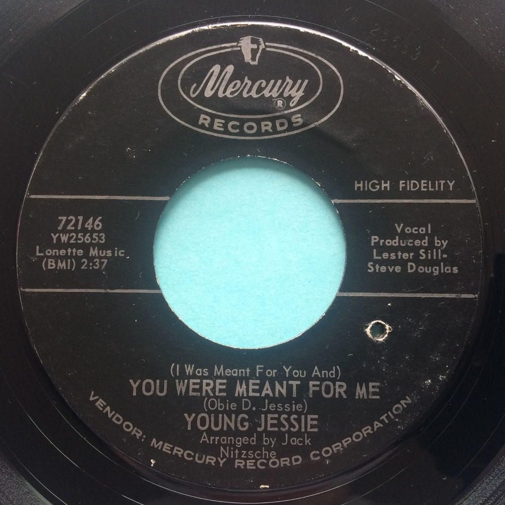 Young Jessie - You were meant for me b/w Mary Lou - Mercury - Ex-