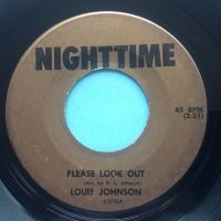 Louis Johnson - Please Look Out - Nighttime - VG+