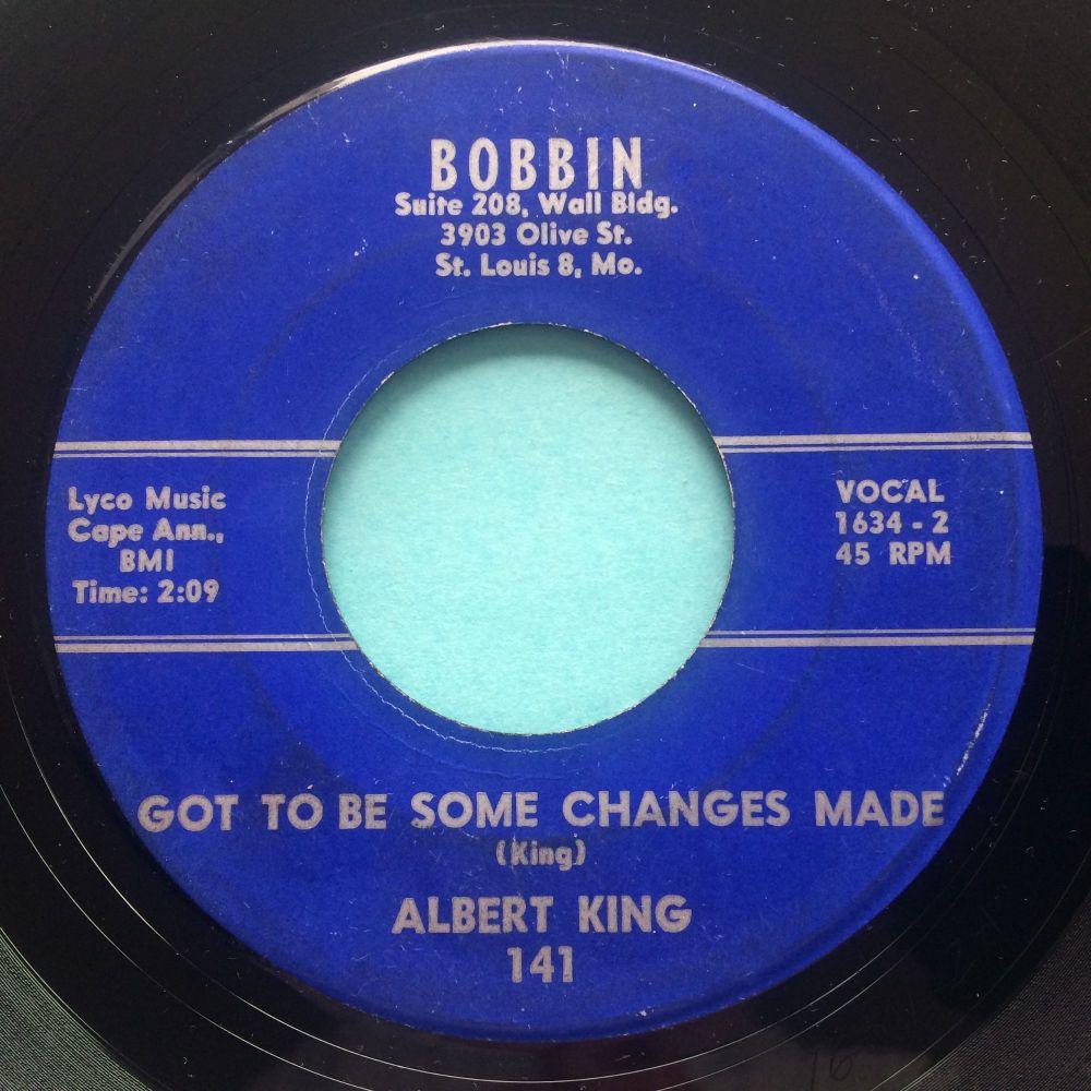 Albert King - Got to be some changes b/w I'll do anything you say - Bobbin - VG+