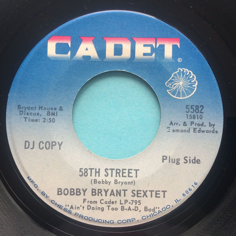 Bobby Bryant Sextet - 58th Street - Cadet promo - Ex