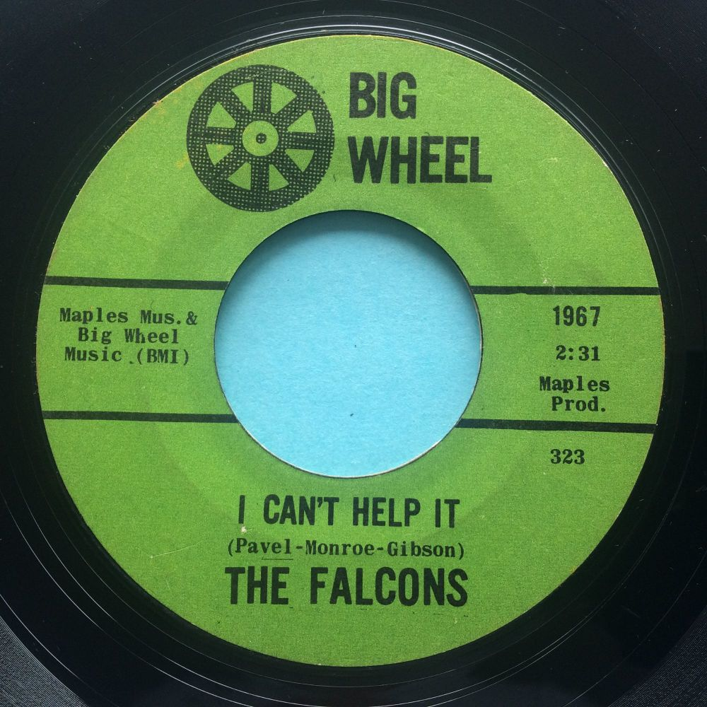 Falcons - I can't help it b/w Standing on guard - Big Wheel - Ex-