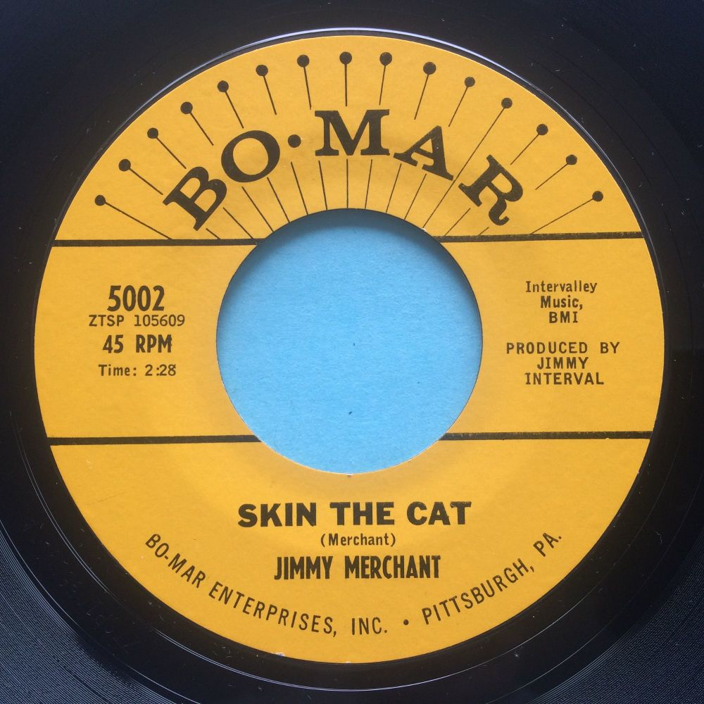 Jimmy Merchant - Skin the cat - Bo Mar - Ex-