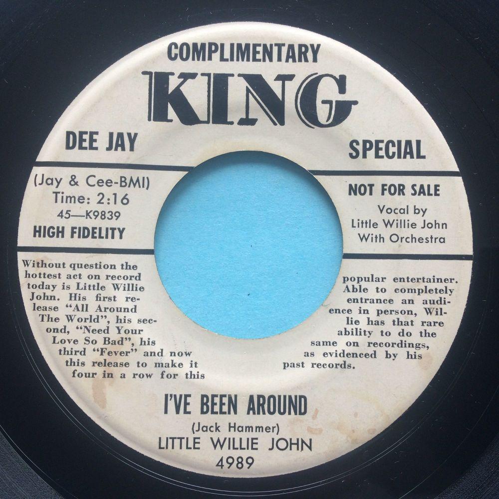 Little Willie John - I've been around - King promo - VG+