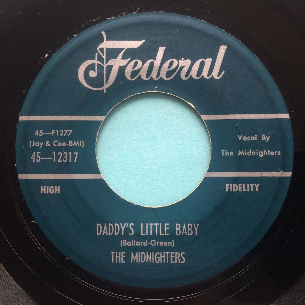 Midnighters - Daddy's little baby - Federal - VG+