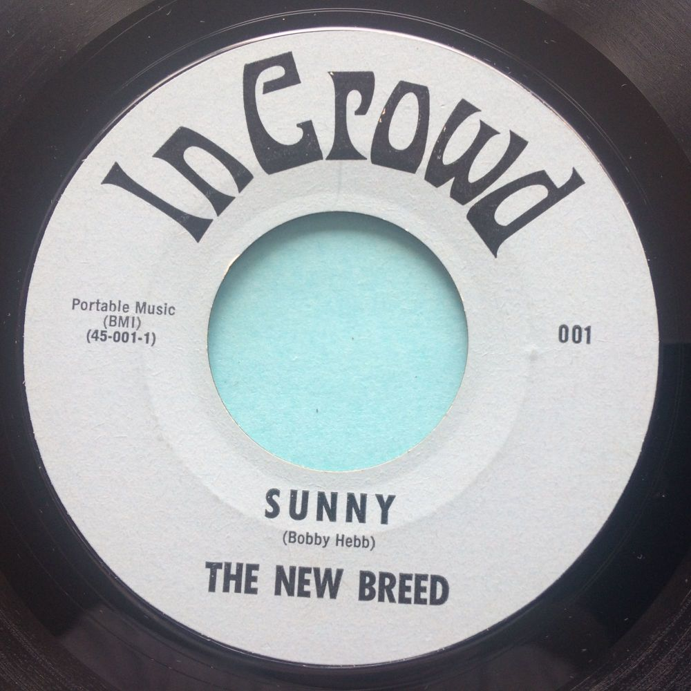 The New Breed - Sunny b/w P.M. or later - InCrowd - Ex
