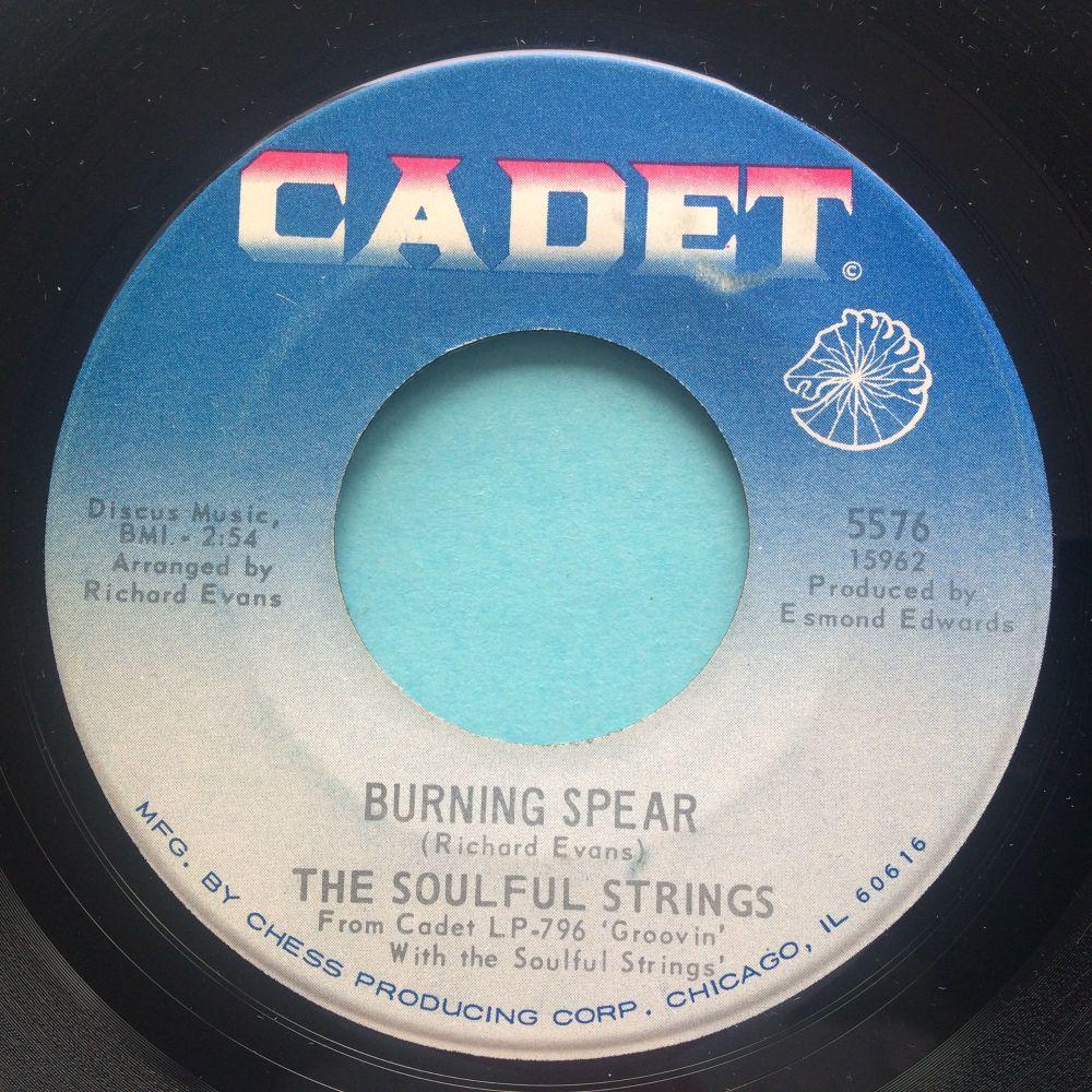 Soulful Strings - Burning Spear - Cadet - Ex