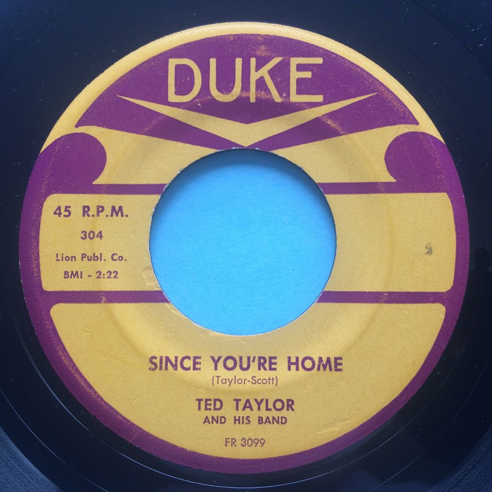 Ted Taylor - Since you're home - Duke - Ex-