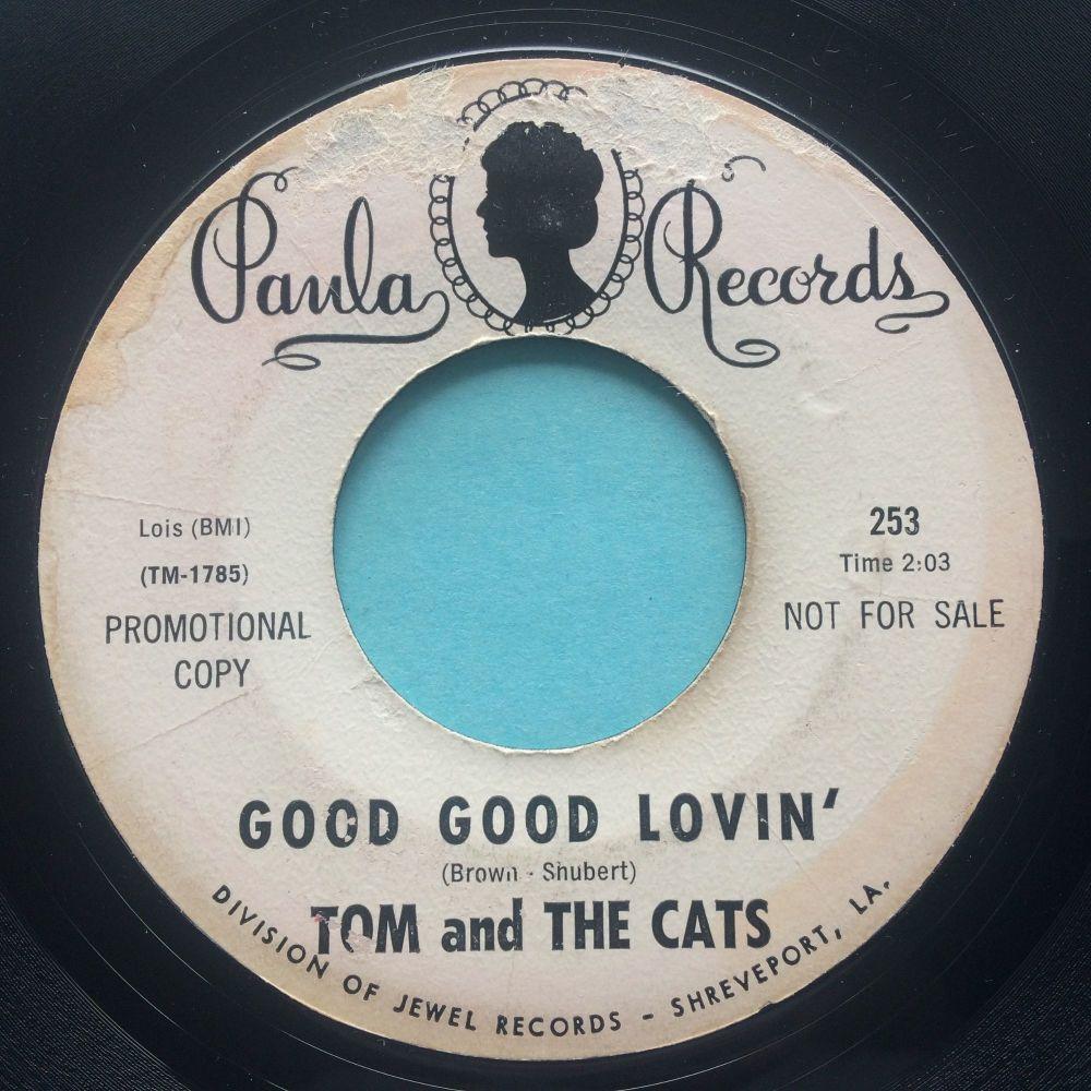 Tom and the Cats - Good good lovin' - Paula promo - VG plays VG+