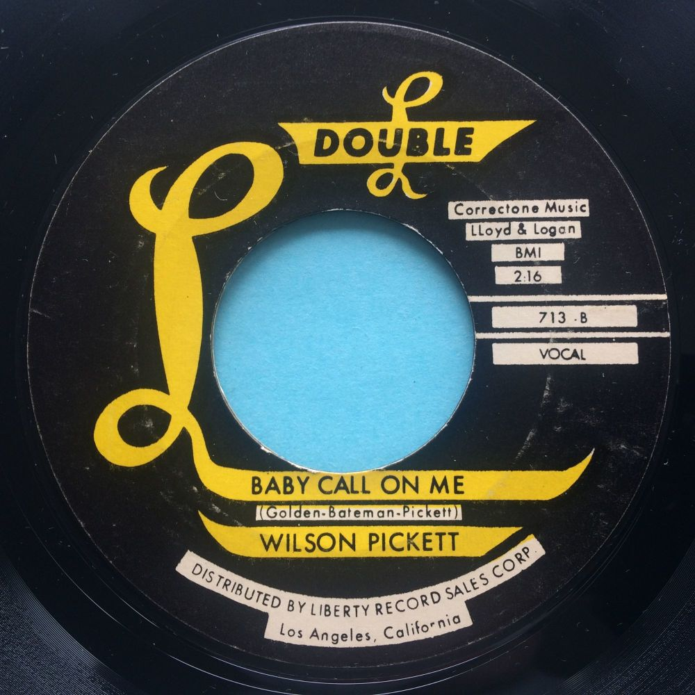 Wilson Pickett - Baby call on me - Double L - Ex-