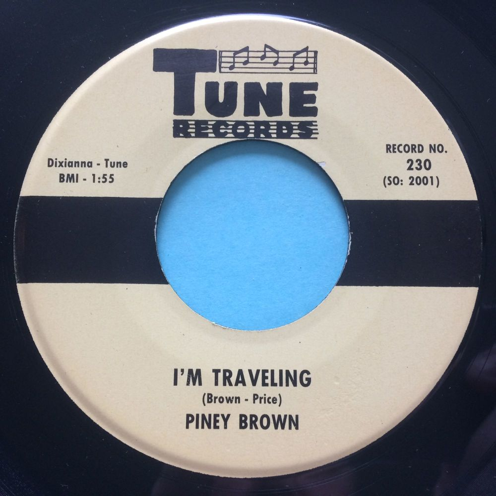 Piney Brown - I'm Traveling - Tune - M-